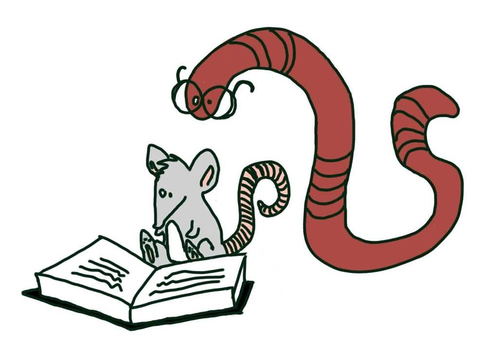 Leseratte & Bücherwurm
